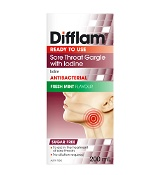 Difflam Sore Throat Gargle with Iodine 200ml