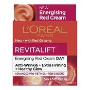 L'Oreal Revitalift Energising Red Cream Day 50ml