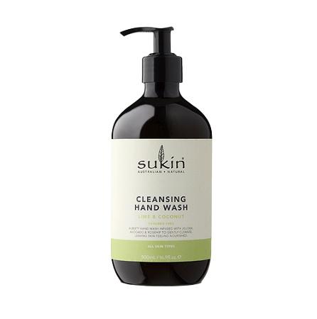 Sukin Hand Wash Lime & Coconut 500ml