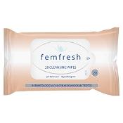 Femfresh Cleansing Wipes 20 Pack