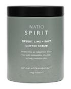 Natio Spirit Desert Lime + Salt Coffee Scrub 300g