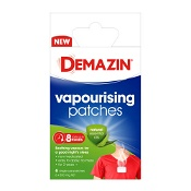 Demazin Vapourising Patches with Essential Oils 6 Pack