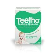 Teetha Teething Granules Natural Teething Pain Relief 24 Sachets