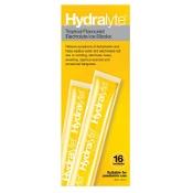 Hydralyte Electrolye Ice Blocks Tropical 62.5ml x 16 Pack