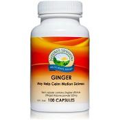 Natures Sunshine Ginger 525mg 100 Capsules