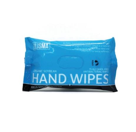 Blisma Antibacterial Hand Wipes 15 Pack