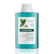 Klorane Scalp Detox Shampoo with Aquatic Mint 200ml