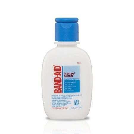 Band-Aid Isopropyl Alcohol with Moisturiser 60ml