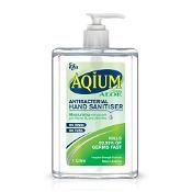 Aqium with Aloe Antibacterial Hand Sanitiser 1 Litre