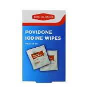 Surgical Basics Povidone Iodine Wipes Pack of 30