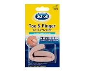 Scholl Toe & Finger Gel Protector 1 Sleeve