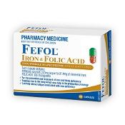 Fefol Iron & Folic Acid 60 Capsules