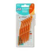 TePe Interdental Brush Angle Orange (ISO Size 1) 0.45mm 6 Pack