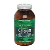 Green Nutritionals Green Calcium Plant Source 883mg 240 Capsules