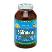 Green Nutritionals Mountain Organic Spirulina 520mg 180 Capsules