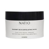 Natio Treatments Radiant Skin Exfoliating Wipes 30 Wipes