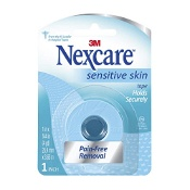 Nexcare by 3M Sensitive Skin Tape 25.4mm x 3.65m 1 Roll