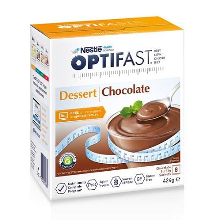 Optifast VLCD Dessert Chocolate 8 Serves