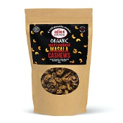 2Die4 Activated Organic Vegan Masala Cashews 300g
