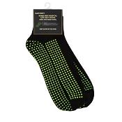 Grippy Plus Sock Black No Cushion Regular