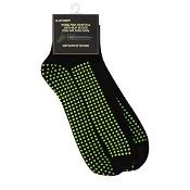 Grippy Plus Sock Black No Cushion Large