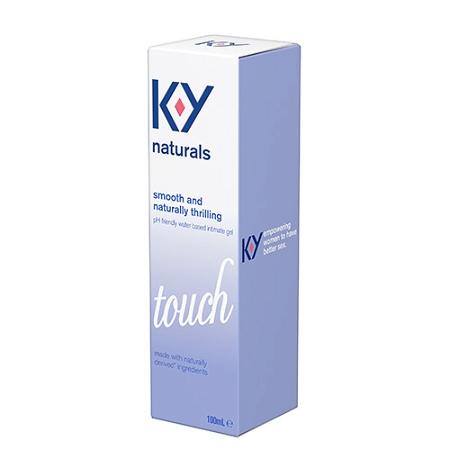 Durex K-Y Naturals Water Based Intimate Gel Touch 100ml