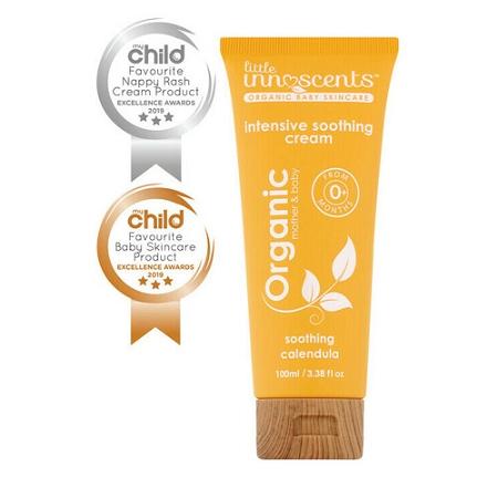 Little Innoscents Organic Baby Intensive Soothing Calendula Cream 100ml