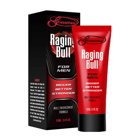 Sensuous Raging Bull Male Enhancement Gel 100ml