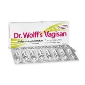 Dr Wolff Vagisan Cream 16 Pessaries