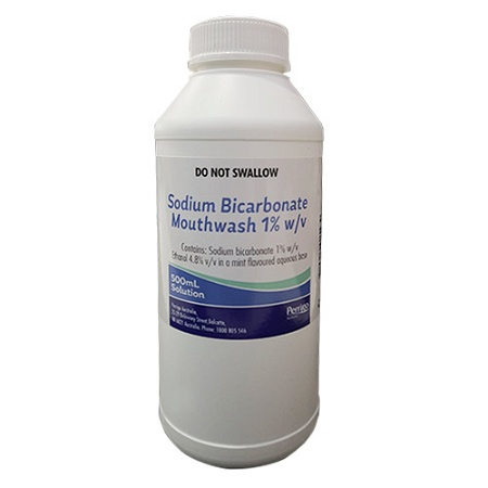 Sodium Bicarbonate 1% Mouthwash 500ml
