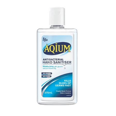 Aqium Antibacterial Hand Sanitiser Refill 375ml