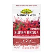 Natures Way Super Reds Plus Greens + Reds 100g