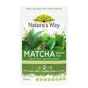 Natures Way Superfood Matcha Green Tea 50g