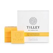 Tilley Guest Soap Tahitian Frangipani Pack 4 x 50g