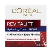 L'Oreal Revitalift Hydrating Night Cream 50ml
