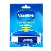 Vaseline Lip Balm SPF30+ 4g