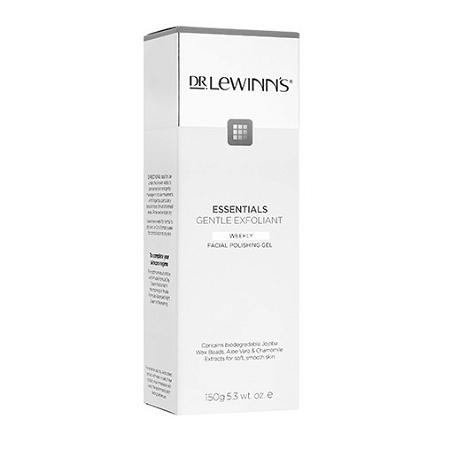 Dr Lewinns Facial Polishing Gel Gentle Exfoliant 150g