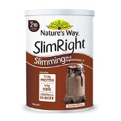 Natures Way Slimright Slimming Meal Replacement Shake Chocolate 500g