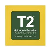 T2 Melbourne Breakfast Teabags 25 Pack