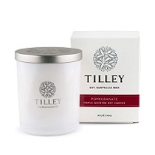 Tilley Scented Soy Candle Pomegranate 240g