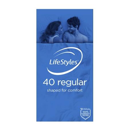 Lifestyles Regular 40 Condoms