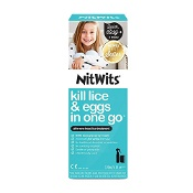 Nitwits All-in-One Head Lice Treatment 120ml