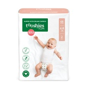 Tooshies by Tom Nappies Size 2 - Infant (4-8kg) 48 Pack