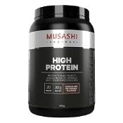 Musashi High Protein Chcolate Milkshake Flavour 900g