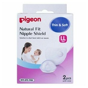 Pigeon Natural Fit Nipple Shield 17mm (LL Size)