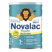 Novalac Fruits Premium Toddler Milk with Banana & Apple 800g