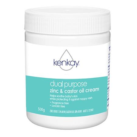 Kenkay Dual Purpose Zinc & Castor Oil Cream 500g
