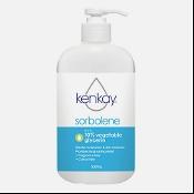 Kenkay Sorbolene with 10% Vegetable Glycerin Pump 500ml