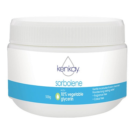 Kenkay Sorbolene with 10% Vegetable Glycerin 500g