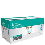 AeroMask Surgical Face Mask with Earloops Level 2 50 Pack